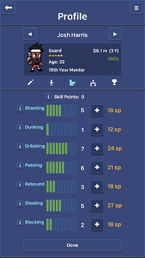 Hoop League Tactics 1.6.4 screenshots 8