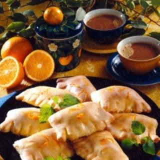 Teigtaschen mit Mandarinen (Diabetiker)