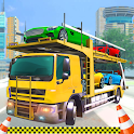 Limousine Car ATV Quad Bike Truck Transporter Game icon