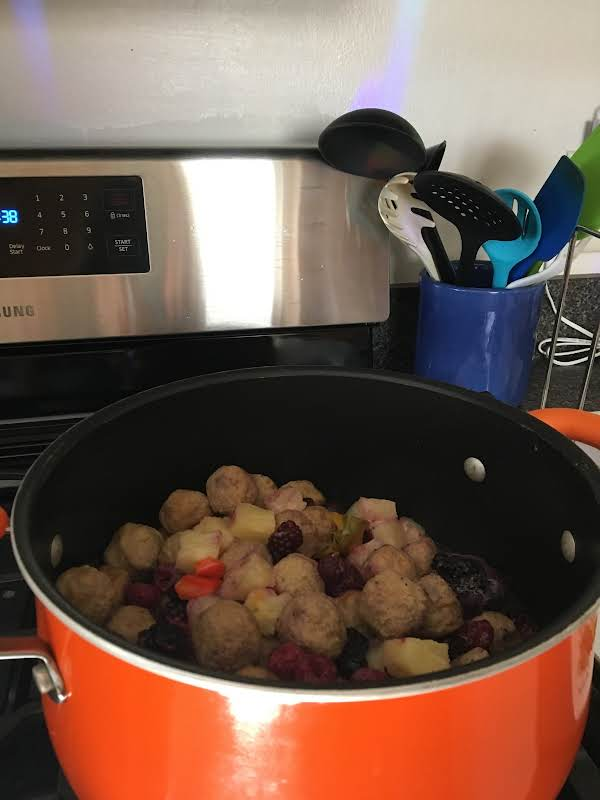 Easy And Fast Raspberry Pineapple Meatballs Recipe