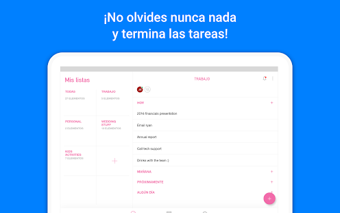 Any.do: Lista de tareas, Calendario, Recordatorio Screenshot