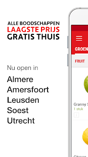 Picnic Online Supermarkt Screenshot