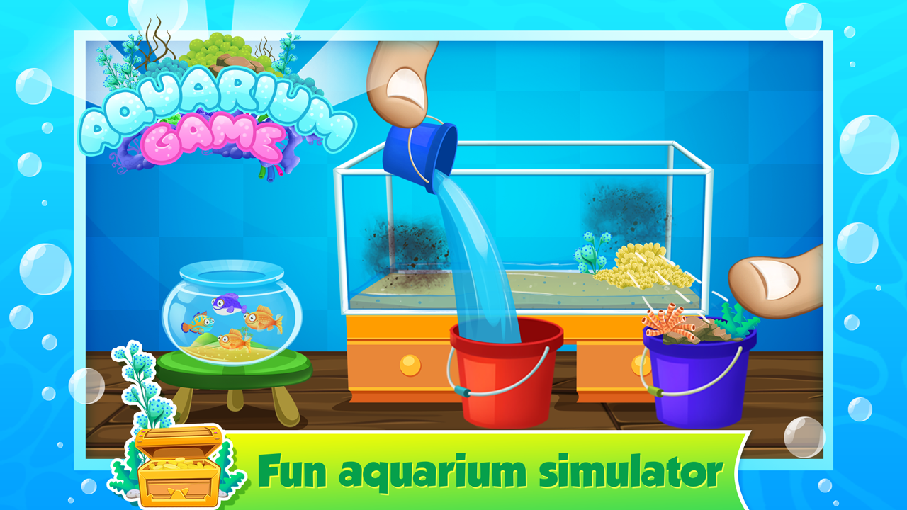 My fish tank aquarium games android apps on google play for Fish tank app