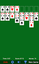 FreeCell Solitaire - screenshot thumbnail 05