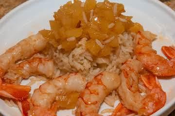 Sous Vide Essentials: Pineapple Shrimp over Rice