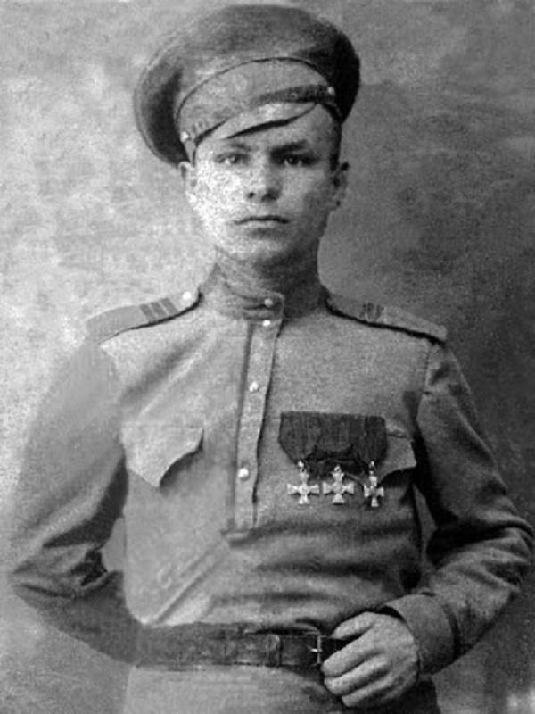 Ізюмський повітовий воєнком Григорій Савонов. Фото часів Великої війни
