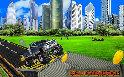 Extreme Monster Truck: Stunt Truck Game 1.0 screenshots 5