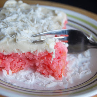 Strawberry Pineapple Cake with Cream Cheese Frosting