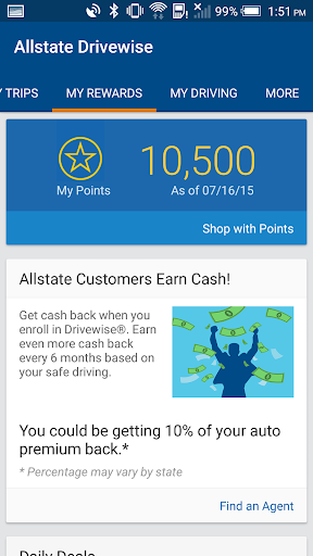 Drivewise mobile by Allstate Screenshot