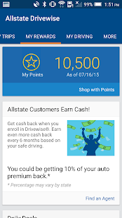 Drivewise mobile by Allstate- screenshot thumbnail