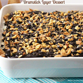 Drumstick Layered Dessert.