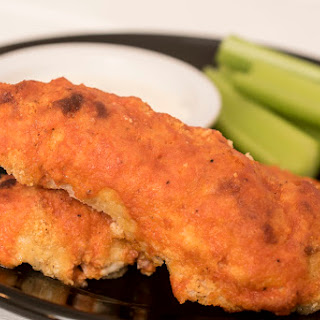 Buffalo Chicken Tenders (low-carb, keto).