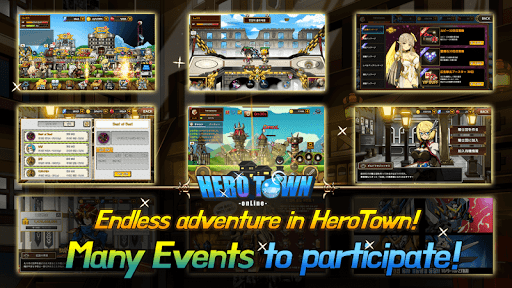 Heroes Town online : 2D MMORPG filehippodl screenshot 4