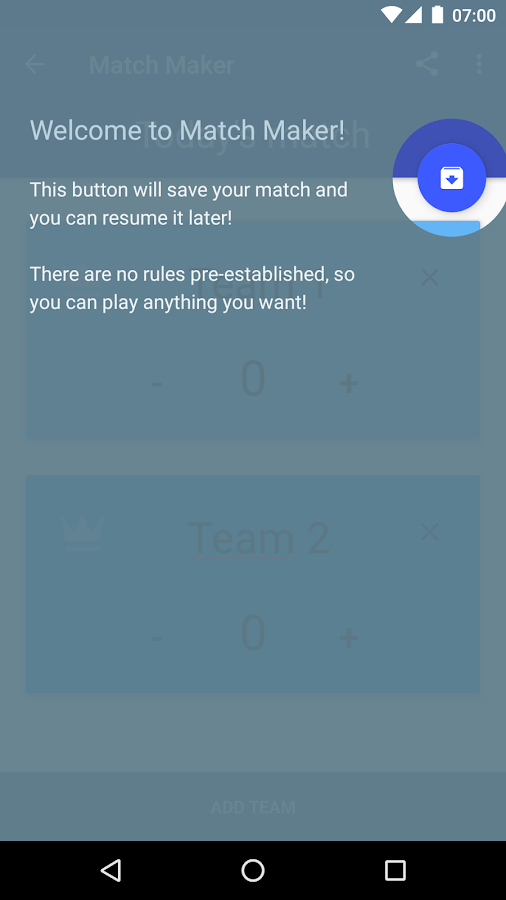 Score counter: Match Maker- screenshot