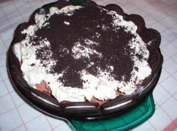 Chocolate Magic Pie