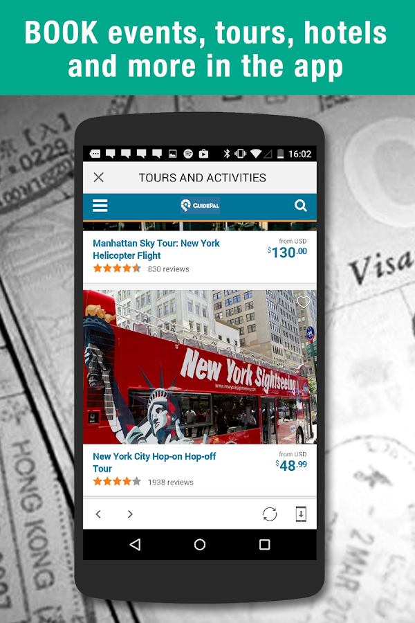 Guidepal Offline City Guides- screenshot