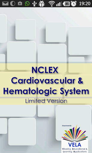 NCLEX Cardio-Hemato SYS Review