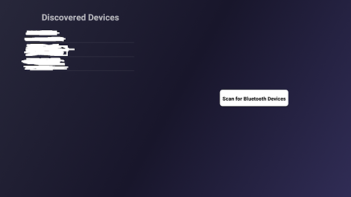 Bluetooth Scanner for Android TV 2.0 screenshots 2