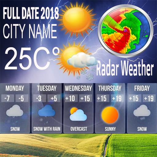 App Insights: Hourly Weather Forecast :Live Radar 2018 | Apptopia