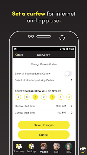 Zift Parental Control & Screen Time Tracker (BETA) app (apk