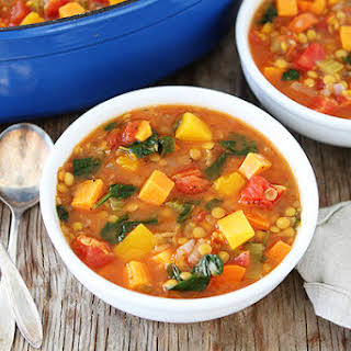 Vegetable Lentil Soup.