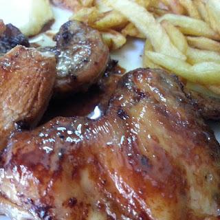 Honey Glazed Chicken.