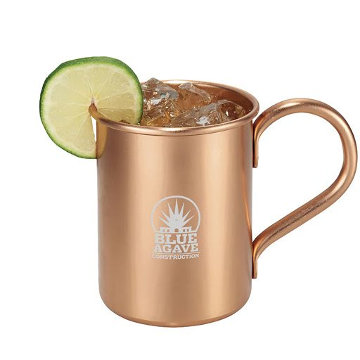 Moscow Mule Copper Cocktail Mug Set