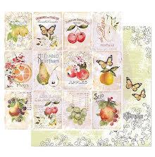 Prima Fruit Paradise Double-Sided Cardstock 12X12 - Fruit Lover UTGÅENDE