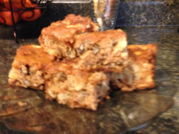 Fresh Apple Bars Recipe