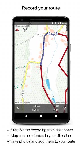Topo GPS Belgium screenshot