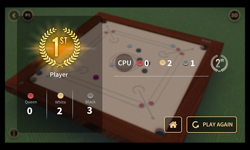 Multiplayer Carrom : 3D  captures d'écran 3