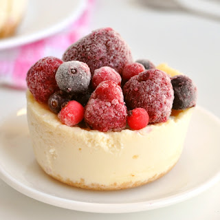 Healthy Microwave Cheesecakes for 2.
