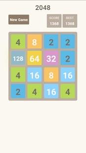 2048 logically puzzle - náhled