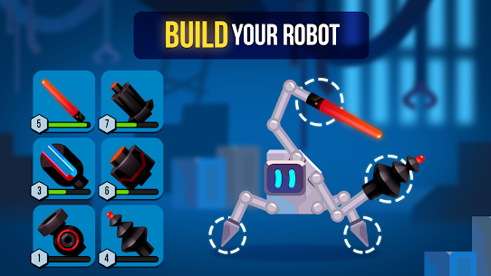 Robotics MOD (Unlimited Money) 3