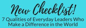 New Checklist