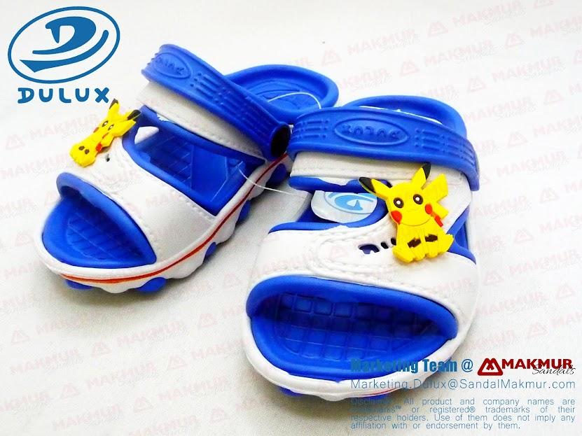 Sandal anak lucu Dulux pokemon