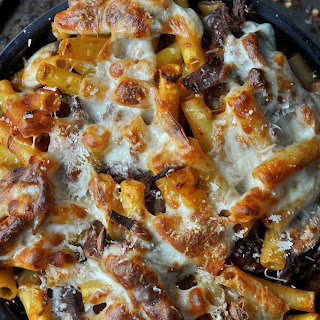 Three Cheese Brisket Ragu Baked Pasta Recipe