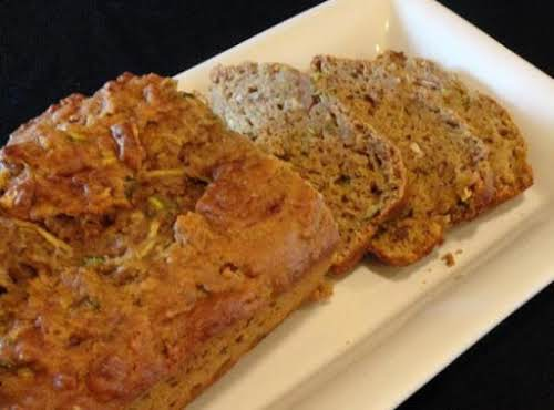 "Click Here for Recipe: Good For You Zucchini and Apple Bread! ""This..."