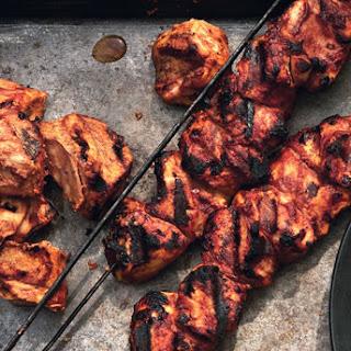 Yogurt-Marinated Chicken Kebabs with Aleppo Pepper