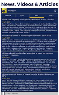 Michigan Radio & Live Scores- screenshot thumbnail