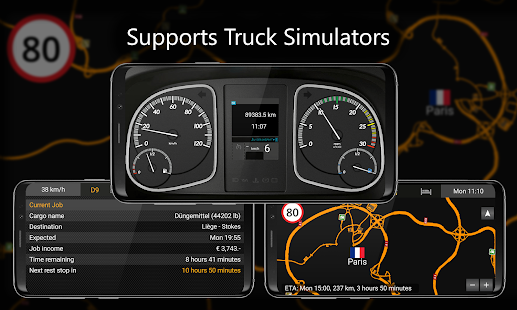 SIM Dashboard Screenshot