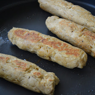 Homemade Gluten-Free Vegan Sausages