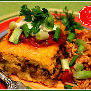 Chili Cheese Cornbread Casserole!.