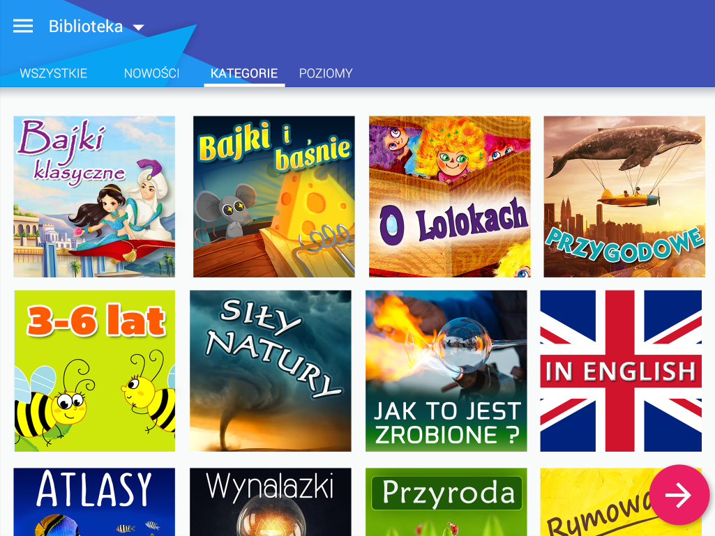 Loloki - library for kids- screenshot