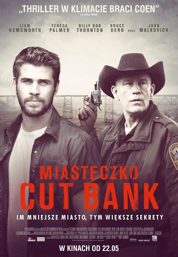 Polski plakat filmu 'Miasteczko Cut Bank'