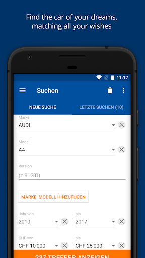 AutoScout24 Switzerland u2013 Find your new car  screenshots 1