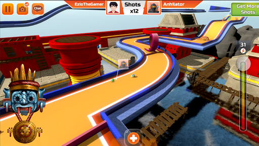 Mini Golf 3D City Stars Arcade - Multiplayer Game 13.1 Screenshots 4
