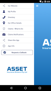 Asset Insurance Brokerapp - náhled
