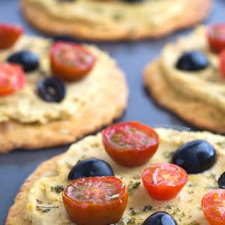Coliflower Pizza Crust (Vegan and Gluten Free )