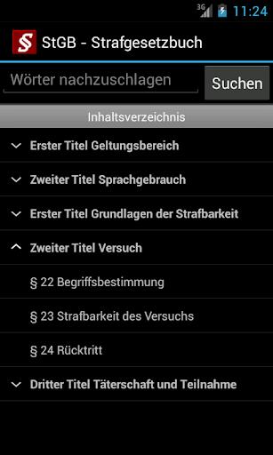 Strafrecht - Strafgesetze screenshot 2